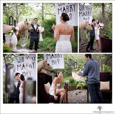 This is PERFECT!! A horse instead of a ring!!