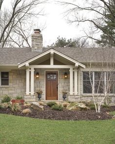 extreme ranch house makeovers | Fairway Ranch Renovation - entry - Traditional - Entry - kansas ...