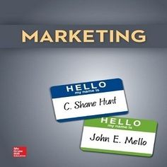 This is a success in marketing course for students that Free Test Bank for Marketing 1st Marketing by Hunt in which you will be provided lots free online marketing textbook test bank questions and prompt answers to prepare a good knowledge for your next exam. Totally 72 multiple choice questions, 30 true and false questions, 45 free text questions that all topics included in this textbook covering in real examples in these quiz questions.
