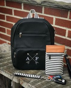 I don't care too much for the Boutique Backpack, but I LOVE me some Twill Stripe!