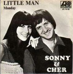 "For some reason only known to herself, my mom loved this song.  She would play it constantly whenever she was in the mood to listen to the radiogram.  Even by Sonny & Chers' own standards, this is one of their more bizarre efforts featuring in no particular order a circus motif (that would soon afterwards crop up in English singer Sandie Shaw's Eurovision Song Contest winner ""Puppet On A String""), what sounds like a Cossack marching beat and even a dulcimer solo."