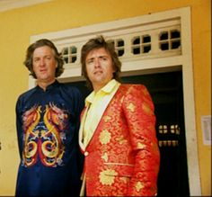 Auditioning for the new Sgt.  Pepper album cover.