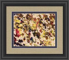 abstract 418b celebration, by  fractal mandala art