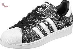 adidas Superstar, Sneakers Basses Femme, Noir (Core Black/Footwear White/Core Black), 42 EU - Chaussures adidas (*Partner-Link)