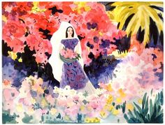 Concept art for Saludos Amigos by the great Mary Blair