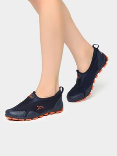 1cb32100d674 Buy Power Women Navy   Orange Lifestyle Shoes online