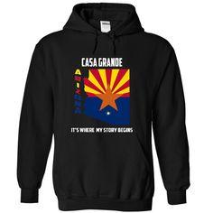 Casa Grande, Arizona It's Where My Story Begins T-Shirts, Hoodies. GET IT ==► https://www.sunfrog.com/States/Casa-Grande-Arizona--Its-Where-My-Story-Begins-4564-Black-12393712-Hoodie.html?id=41382
