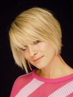 Short wedge haircuts for women
