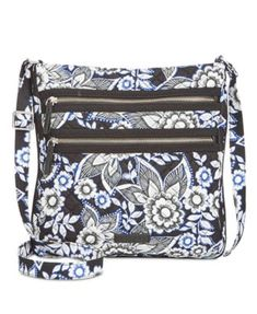 Vera Bradley Iconic Triple-Zip Hipster Crossbody   Reviews - Handbags    Accessories - Macy s 82268e1735de3