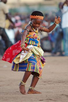 """""""If you bungle raising your children, I don't think whatever else you do well matters very much."""" ~ Jacqueline Kennedy  --  Onassis Dance, festival du Zanzan, Ivory Coast"""
