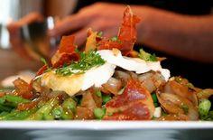 Salade de haricots décadente   Métro