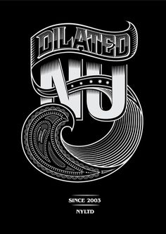 Dilated Nu Tees by Yosuke Ando, via Behance