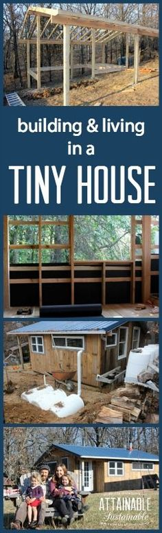 Building and living in a tiny house. Could you do it? Here, Teri shares how her family handles small space living.
