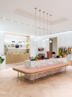 Talking Retail Design with Kookai's Fleur Sutherland Timber Flooring, Concrete Floors, Visa Card Numbers, Stair Nosing, Underfloor Heating, Floor Colors, Retail Space, Retail Design, Store Design