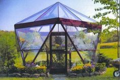 Geodesic Dome greenhouse: More Use for Starplate Building System