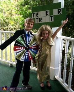 pat sajak and vanna white costumes - Google Search
