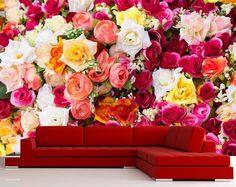 Çiçek bahcesi - çiçekli duvar kağıtları