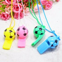 2PCS Soccer Football Sports Whistle Survival Cheerleaders Referee Whistle SP