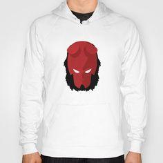 Disponibile su @Society6 la #serie dedicata a #Hellboy http://society6.com/SPARKcreative/HellBoy-prN_Print  #vestidifferente