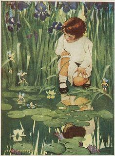 """Jessie Willcox Smith, """"The Way to Wonderland"""""""