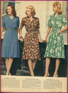 This Sunday is more from the Summer Sears Catalog of 1943