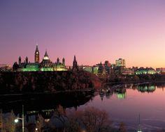Ottawa Ontario at Night