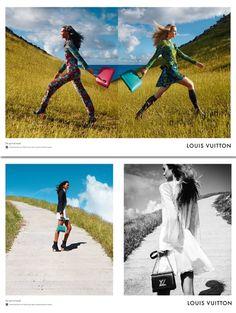 Liya Kebede, Maartje Verhoef & Julia Nobis voor Louis Vuitton Voor de nieuwe Spirit of Travel-campagne stuurde Louis Vuitton modellen Liya Kebede, Maartje Verhoef en Julia Nobis naar het prachtige Frans West-Indië. 'Reizen in stijl', noemen we dat