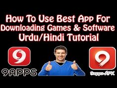 How To Use Best App For Downloading Games & Software Urdu/Hindi Tutorial