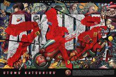 geek poster & Akira & by Ise Ananphada Cyberpunk, Akira Anime, Neo Tokyo, Pop Culture Art, Alternative Movie Posters, Movie Poster Art, Meet The Artist, Film, Comic Art