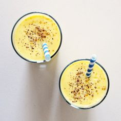 Mango Lassi with Cardamom -- so simple to make.