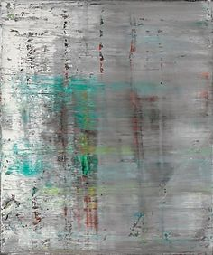 Gerhard Richter, Abstract Painting, Oil on canvas. Gerhard Richter, Abstract Expressionism, Abstract Art, Abstract Paintings, New European Painting, Cool Paintings, Watercolor Landscape, Beach Art, Art Auction