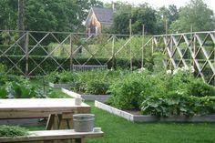 Raised Beds in a Hamptons Vegetable Garden, Gardenista