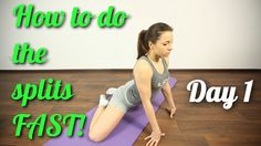 How To Do The Splits FAST?! quick and easy! Best VIDEO tutorial