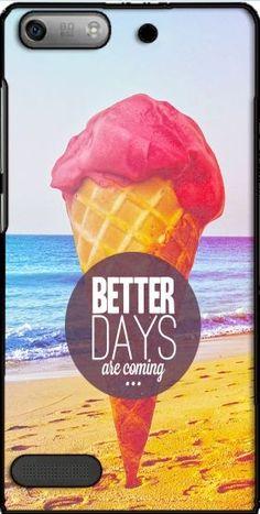 Sony Xperia case with black design - Page 10 Ice Cream Beach, Big Ice Cream, Sony Xperia, Better Days Are Coming, Outdoor Decor, Grande, Design, Black, Ice Cream