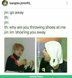 I hope he has a file somewhere on his computer where he collects all the dad jokes that armys contribute Bts E Got7, Bts Jin, Jin Dad Jokes, Mom Jokes, Cypher Pt 4, Jung Kook Bts, Bts Memes Hilarious, Kpop Memes, Dad Humor