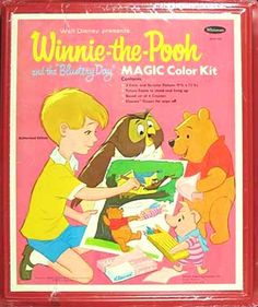 Winnie-the-Pooh Magic Color Kit, Whitman 1965