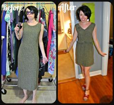 How to Add a Fantastic Elastic Waist to Just About Any Dress! | | ReFashionista