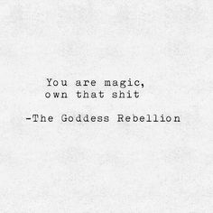 How cool is that for a name!!!! The goddess rebellion! Rebellion, rebels with a cause! Tribe ...good vibe tribe... thoughts for the morning