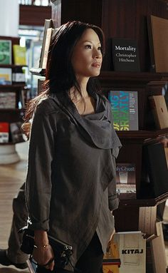 Lucy Liu's wardrobe in Elementary. Wanting...most of it!