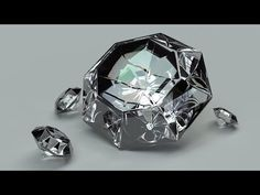 How to make Diamonds in Blender 2.73! ( easy ) - YouTube