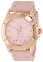 "Juicy Couture Women's 1900997 ""Rich Girl"" Rose Gold-Plated Stainless Steel Watch"