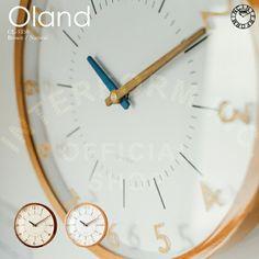 【楽天市場】Oland [ オラント ] 壁掛け時計 ■ 電波時計   壁時計   掛け時計 【 インターフォルム 】:INTERFORM Clock, Wall, Home Decor, Watch, Decoration Home, Room Decor, Clocks, Walls, Home Interior Design