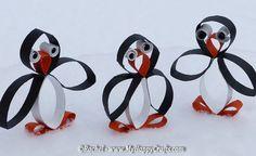 penguins craft_easy winter craft