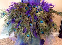 Peacock Costume Bustle Tutorial