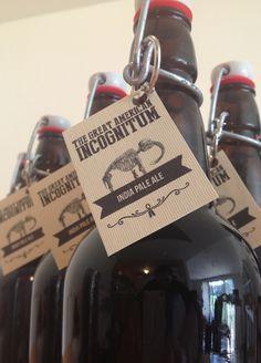 Craft beer labels for home brews