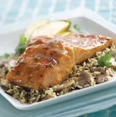 To save yourself some time, made the marinade for Chef Gary's Honey-and-Lime Baked Salmon ahead and refrigerate it until you need it.