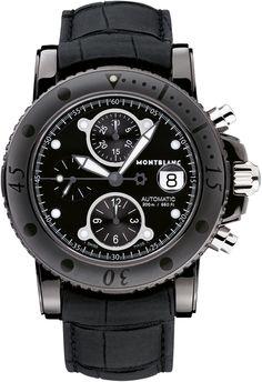 Montblanc presents:Montblanc Sport DLC Chronograph Automatic