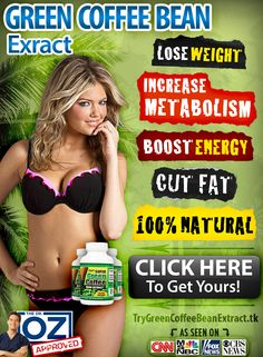 """This is the best new natural weight loss product I've seen in a long time! It's """"Green Coffee Bean Extract"""" (Seen on Dr Oz)  This is the best deal for it I've found: TryGreenCoffeeBeanExtract.tk   #GreenCoffee #GreenCoffeeBean #GreenCoffeeBeanExtract #LoseWeight #Weightloss #Health"""