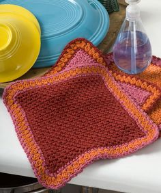 Dandy Dishcloths: free crochet pattern