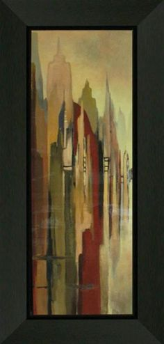 Metropolitan Afternoon II | Abstract | Framed Art | Wall Decor | Art | Pictures | Home Decor